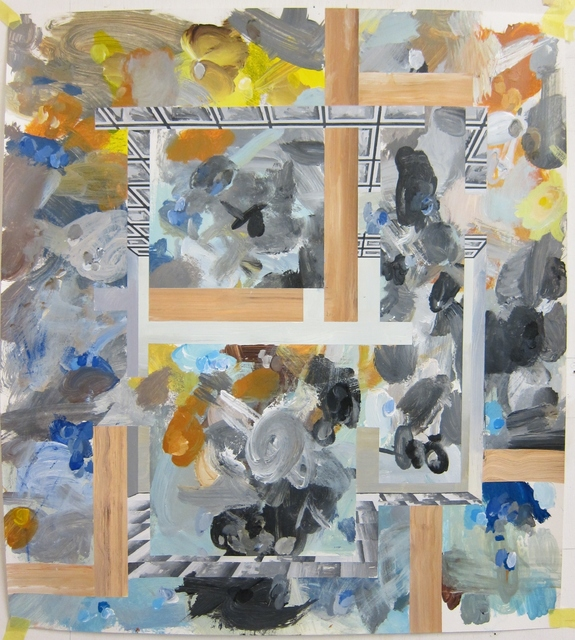 ", '""Study for P – Hostage 5"",' 1988, Galería Juana de Aizpuru"