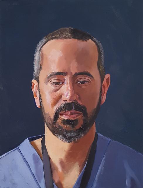 , 'Dr. Martinez,' 2018, Craig Krull Gallery
