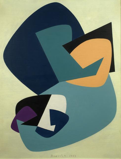 , 'Funzione concreta n.13A,' 1956, Cardelli & Fontana artecontemporanea