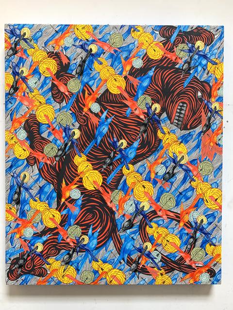 , 'Red Tiger in Frenzy (Birds),' 2019, Galerie LJ