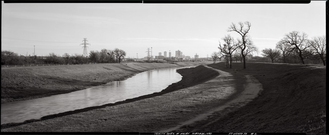 , 'Clear Fork, Trinity River at Hulen Drive, Fort Worth, Texas, March 21, 1990,' 1990, Fort Worth Contemporary Arts