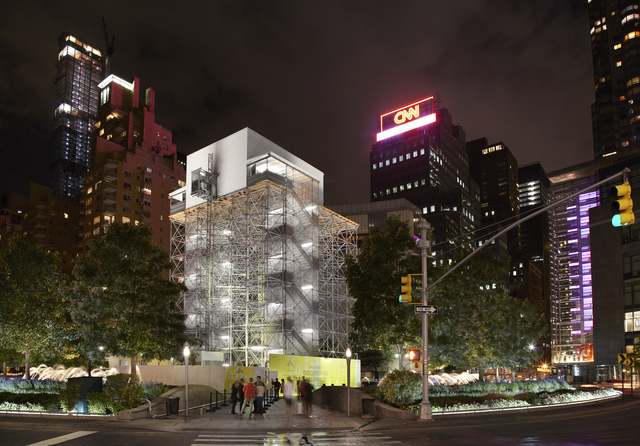 Tatzu Nishi, 'Discovering Columbus', Public Art Fund