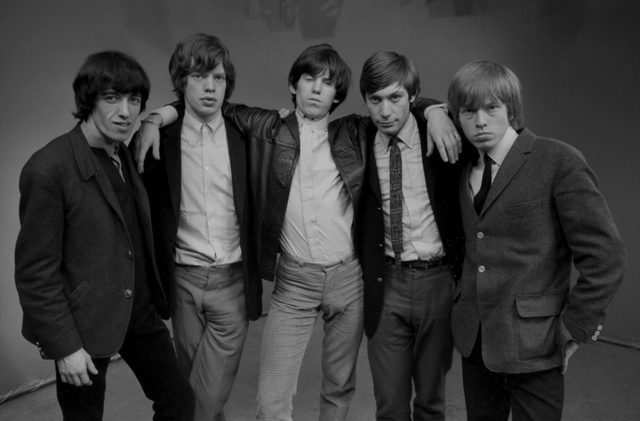 , 'The Rolling Stones Group Shot #1, London,' 1964, ElliottHalls