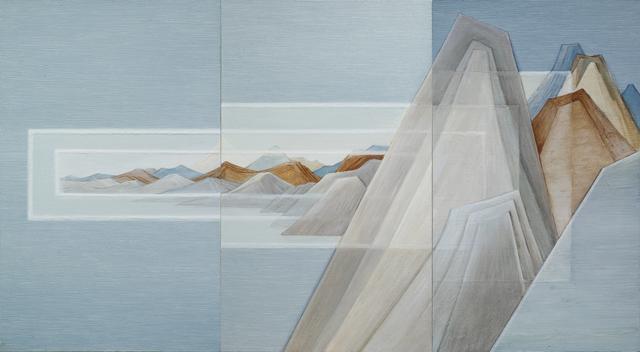 , '重屏 Double Screen,' 2018, Amy Li Gallery