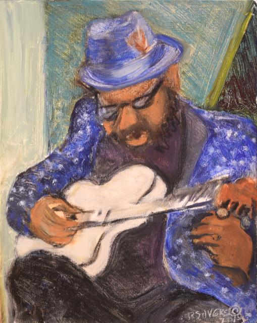 , 'Charles Plays Solo Guitar,' 2018, Carter Burden Gallery