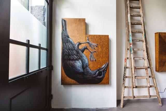 , 'CORVUS FRUGILEGUS MMXVIII (Rook),' 2018, The Garage Amsterdam