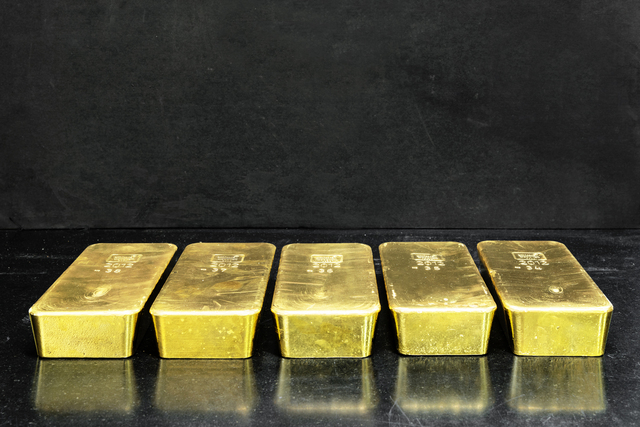 , 'Gold ingots with a purity of 99.99% recovered from indus- trial by-products and end-of-life items such as mobile phones, circuit boards, automotive catalysts, and industrial catalysts, to name a few. These products are  nely shredded and melted down in an oven, in which the plastic components contribute to the fuel.,' 2015, Anastasia Photo