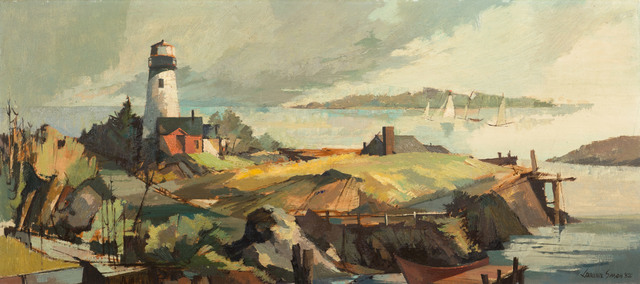 Laurence Sisson, 'The Regatta', 1952, Vose Galleries