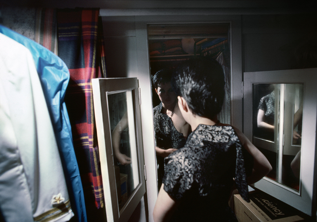 , 'Sharon getting ready,' 1979, Casemore Kirkeby