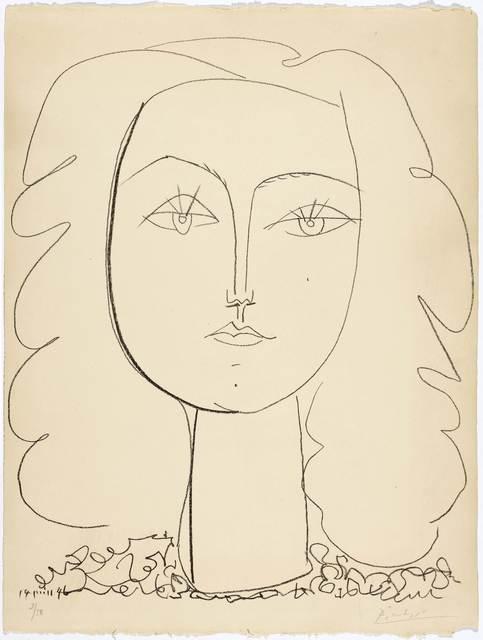 Pablo Picasso, 'Françoise', 1946, Koller Auctions