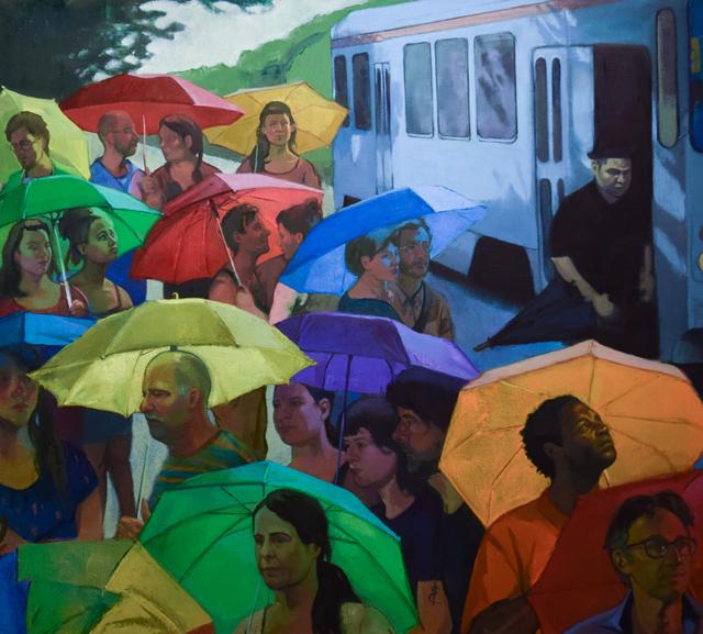 , 'Ghost Trolley,' 2017, Stanek Gallery