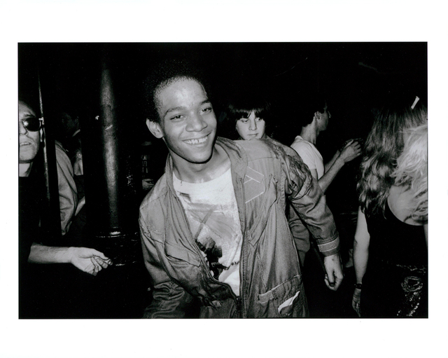 Nicholas Taylor, 'BASQUIAT Dancing at The Mudd Club, 1979 (Basquiat Boom For Real photograph)', 1979 printed later, Photography, Archival inkjet print on 310gsm fiber based paper, Lot 180