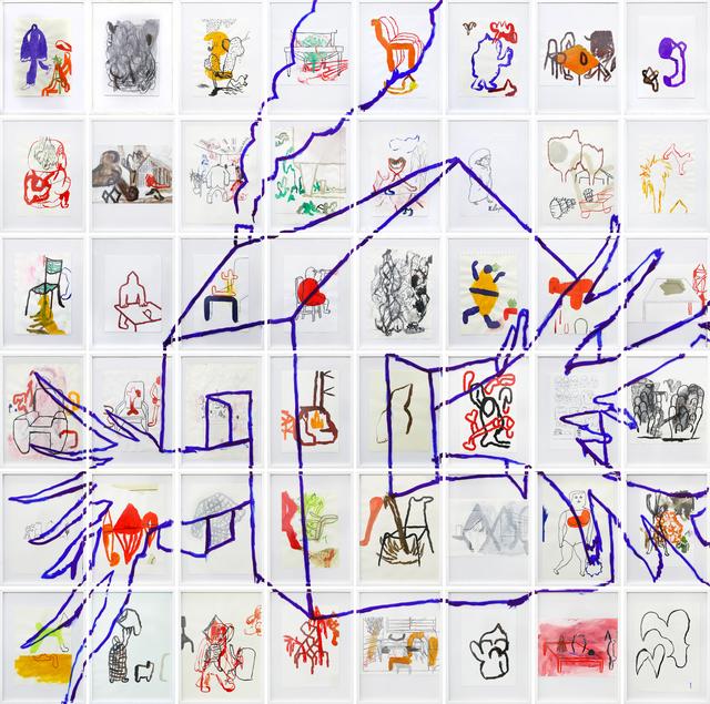 , 'Dentro e Fora,' 2017, Bolsa de Arte