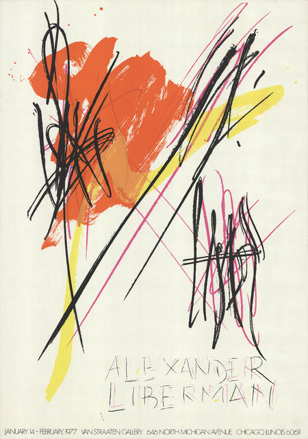 Alexander Liberman, 'Untitled', 1977, Posters, Offset Lithograph, ArtWise