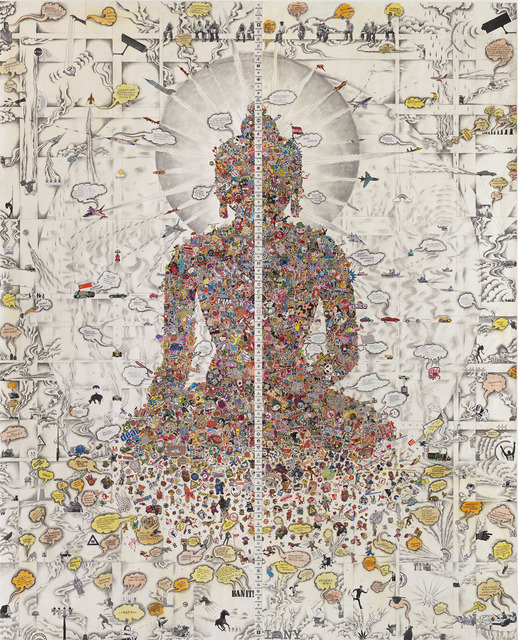 , 'Dissected Buddha,' 2013, The Metropolitan Museum of Art