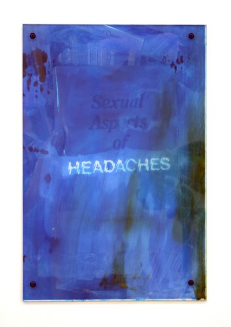 , 'Headaches 5,' 2017, Halsey McKay Gallery