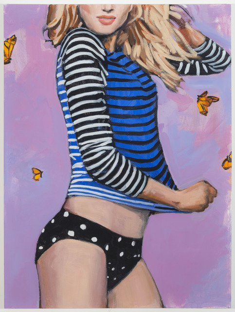 , 'Sun Surf and Style the Swim Tee Ride the Wave,' 2014, Johannes Vogt Gallery