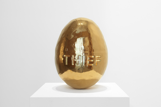 , 'Golden Egg,' 2018, Jane Lombard Gallery