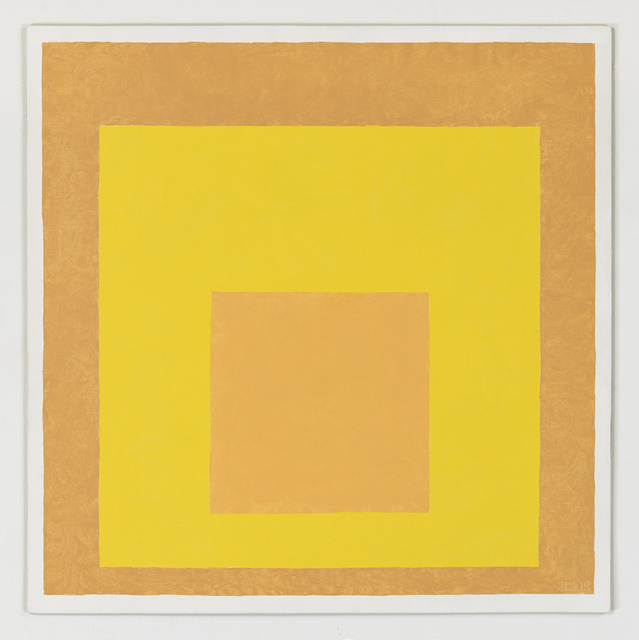 , 'Study for Homage to the Square Equilibrant, 1962, After Josef Albers,' 2014, RaebervonStenglin