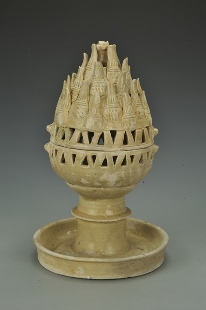 , 'Celadon incense burner,' 317-420, China Institute Gallery
