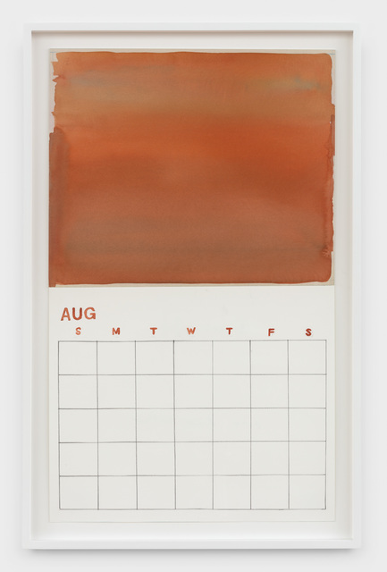 , 'Blank August,' 2019, Rachel Uffner Gallery