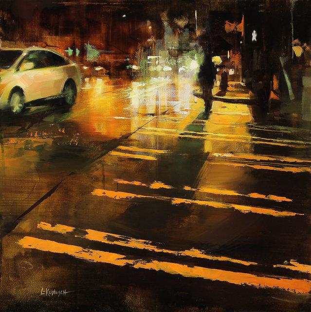 Lindsey Kustusch, 'Sunshine in the Dark', 2016, Painting, Oil on panel, Abend Gallery