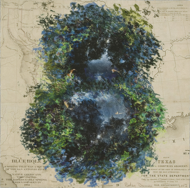 Betsy Damon, 'Blue Hole (part of Femfolio portfolio)', 2007, The Brodsky Center at PAFA