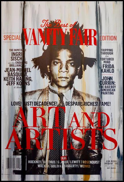 Erik Skoldberg, 'Erik Skoldberg, Vanity Fair Basquiat', 2019, Oliver Cole Gallery