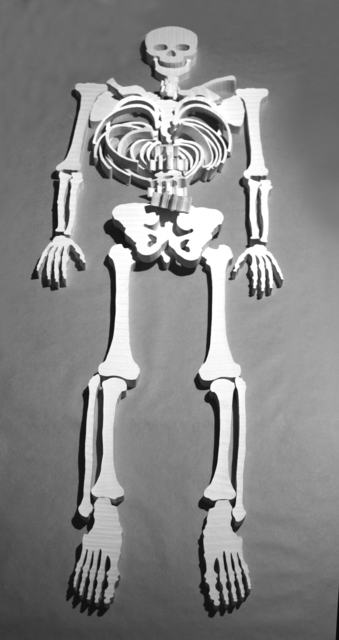 , 'Bones I,' 2012, Dominik Mersch Gallery