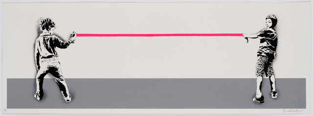, 'End of the line - print,' 2019, GCA Gallery