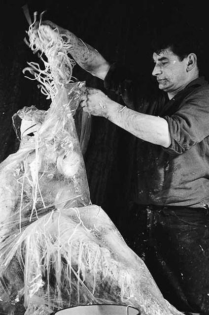 , 'Materialaktion Nr. 5,Verschnürung eines weiblichen Körpers,' 1964, Konzett Gallery