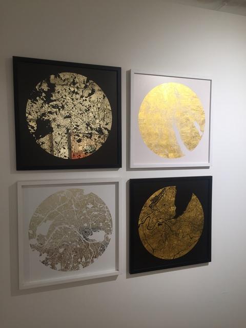 , 'Mappa Mundi Basel, Berlin, Zurich Geneva,' 2018, Art Unified Gallery