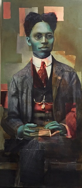 , 'The Normal Man: James Dingus III,' 2015, Hudson Milliner Art Salon