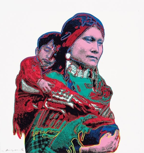 , 'Mother and Child ,' 1986, Imitate Modern