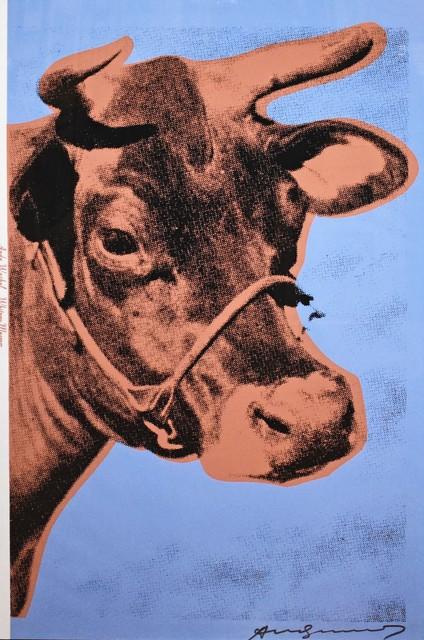 Andy Warhol, 'Cow ', 1971, Gallery HAAS & GSCHWANDTNER
