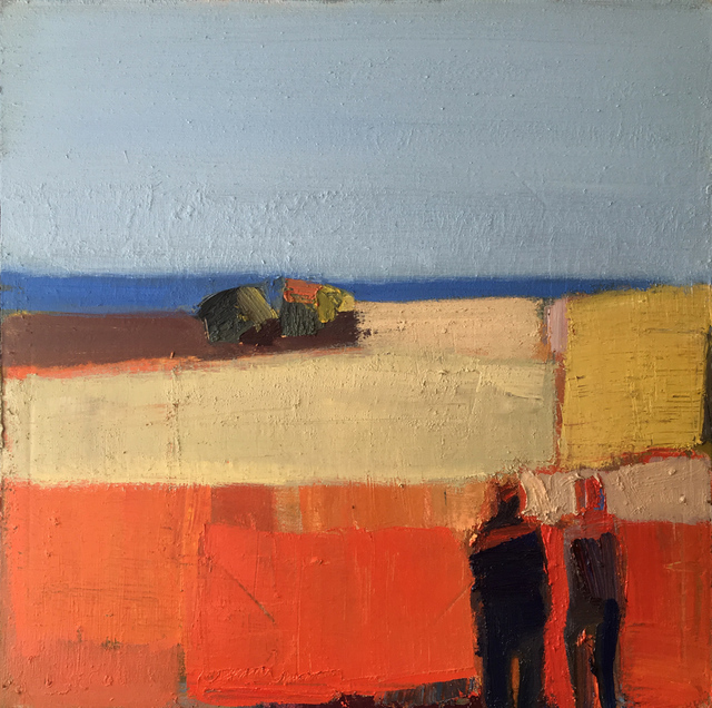 , 'Meadow at Sea,' 2018, Sue Greenwood Fine Art
