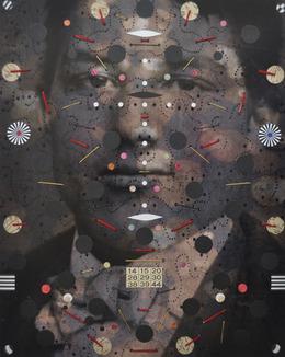 , 'Man 2,' 2013-2014, Muriel Guépin Gallery