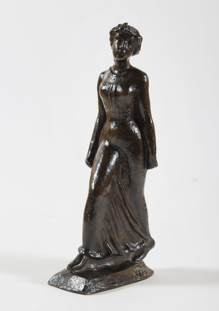 Aristide Maillol, 'La parisienne', 1896, Sculpture, Bronze cast from Alexis Rudier during the artist's lifetime, HELENE BAILLY GALLERY