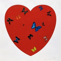 Damien Hirst, All You Need is Love, Love, Love