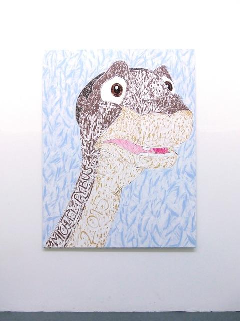 , 'Dinosaur Painting,' 2015, Evelyn Yard