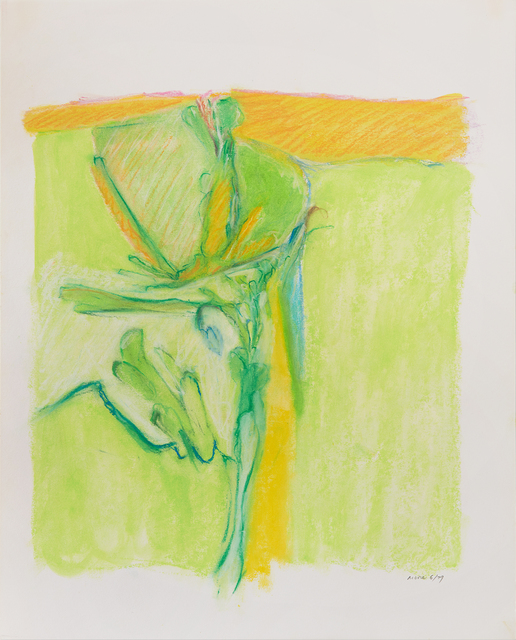 , 'Untitled II (Green Yellow),' 1979, Susan Eley Fine Art