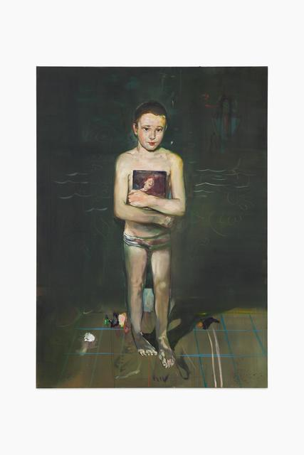 , 'Self as young swimmer ,' 2016, Almine Rech