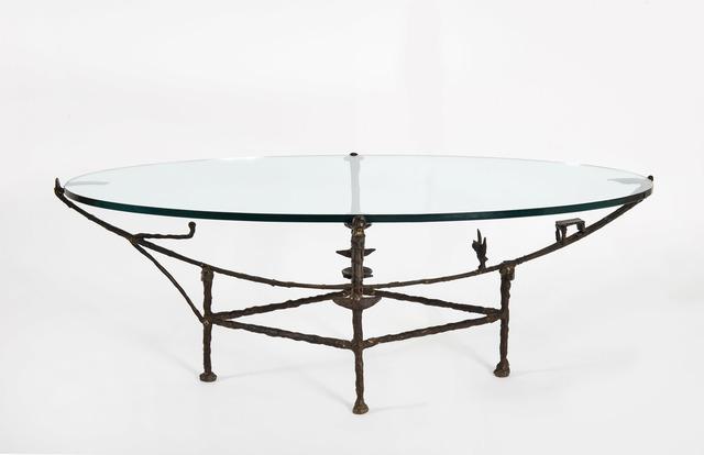 Diego Giacometti, 'Table de carcasse, modèle à la chauve-souris', 1982, Design/Decorative Art, Bronze with brown patina, HELENE BAILLY GALLERY