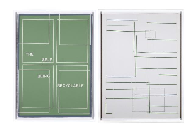 , 'the self... ,' 2012, Hverfisgallerí