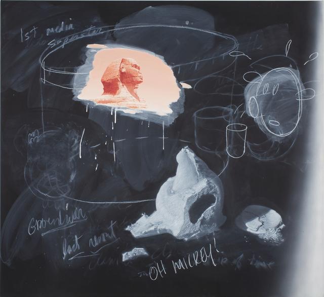 Vernon Fisher, 'Time Trails', 2012, Mark Moore Fine Art