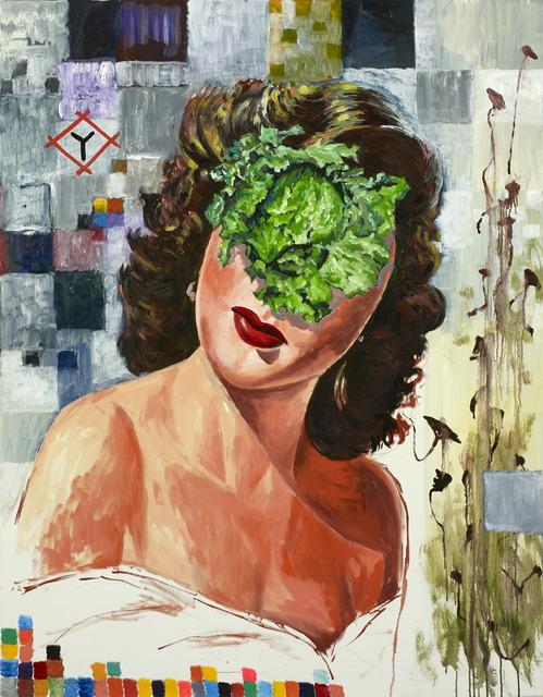 , 'Woman with Cabbage ,' 2017, Albertz Benda