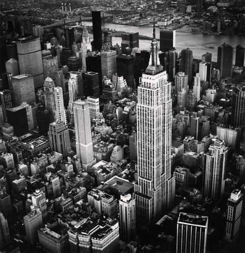 Michael Kenna, 'Empire State Building, Study 6, New York, NY, USA.', Photography, Silver Gelatin Print, Weston Gallery