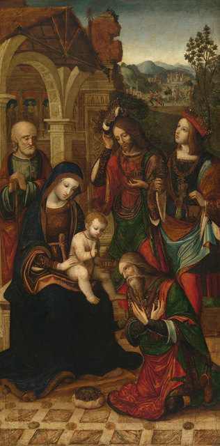 , 'Adoration of the Magi,' ca. 1508, American Federation of Arts