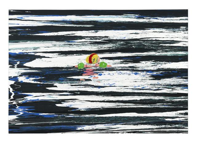 , 'Schwimmer,' 1996, Ludorff