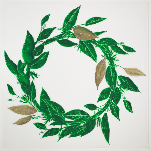 , 'Laurel Wreath,' 2013, Erin Cluley Gallery
